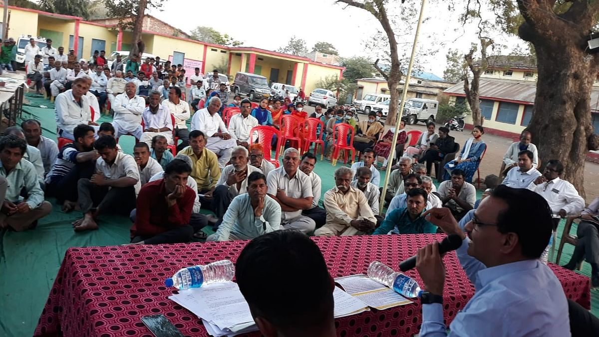 Madhya Pradesh: Villagers in Barwani asked to take up organic farming; refrain from drugs, liquor