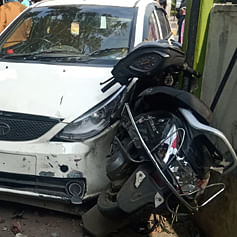 Ujjain: Morning walkers injured in car accident