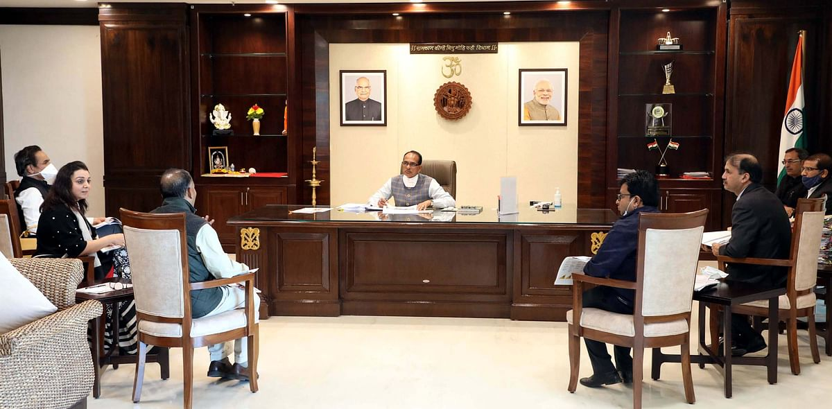 Madhya Pradesh:  Trident Group delegation meets CM Shivraj Singh Chouhan, expresses desire to invest Rs 6500 cr
