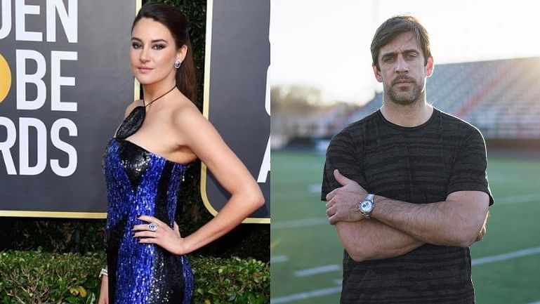 'Divergent' actor Shailene Woodley confirms engagement with footballer Aaron Rodgers