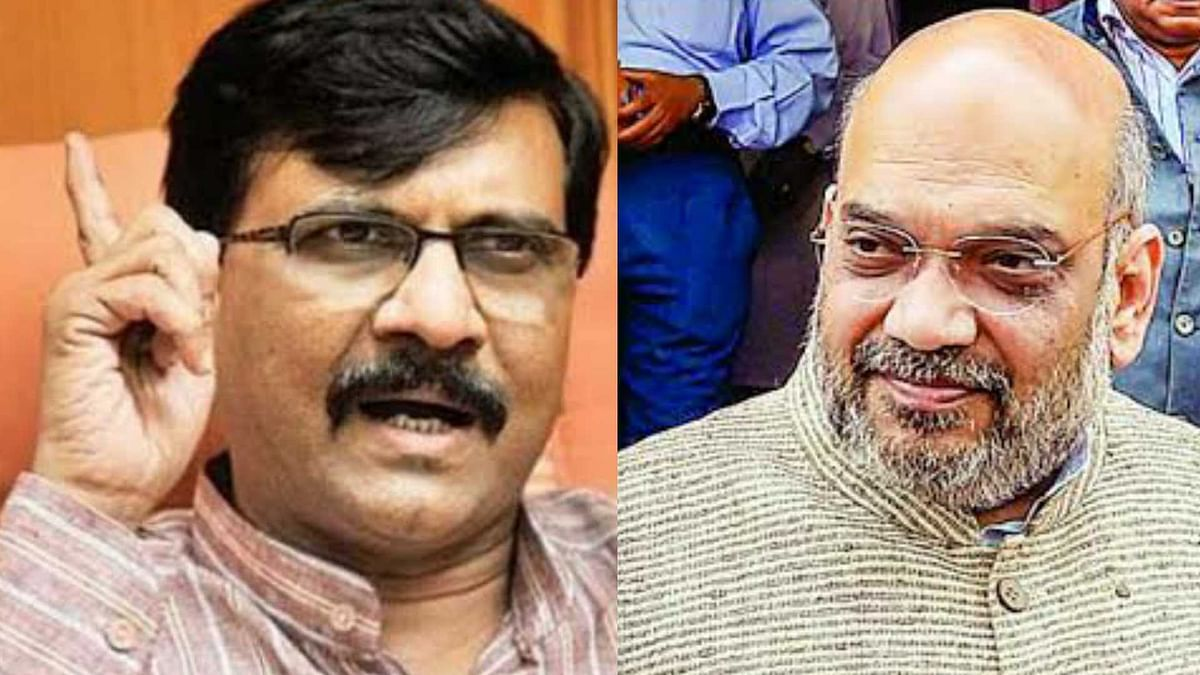 Sanjay Raut hits back at Amit Shah over his 'Shiv Sena would not have survived' remark