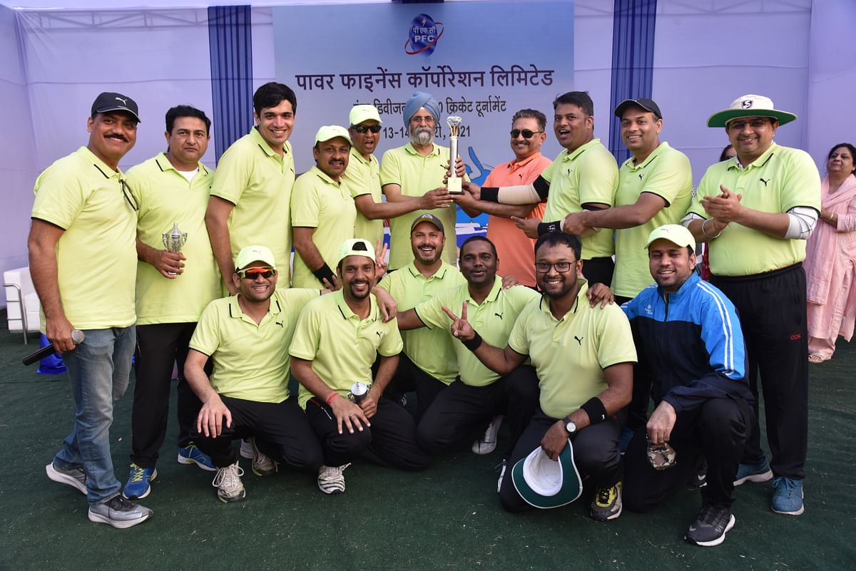 Power Finance Corporation organises intra-divisional cricket tournament
