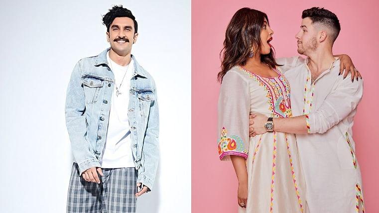 Ranveer Singh's cheeky comment on 'Jiju' Nick Jonas' workout video leaves Priyanka Chopra in splits