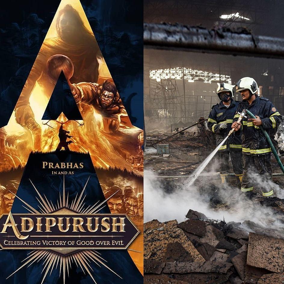 Adipurush: Fire breaks out on set of the Prabhas-Saif Ali Khan starrer on Day 1 of shooting