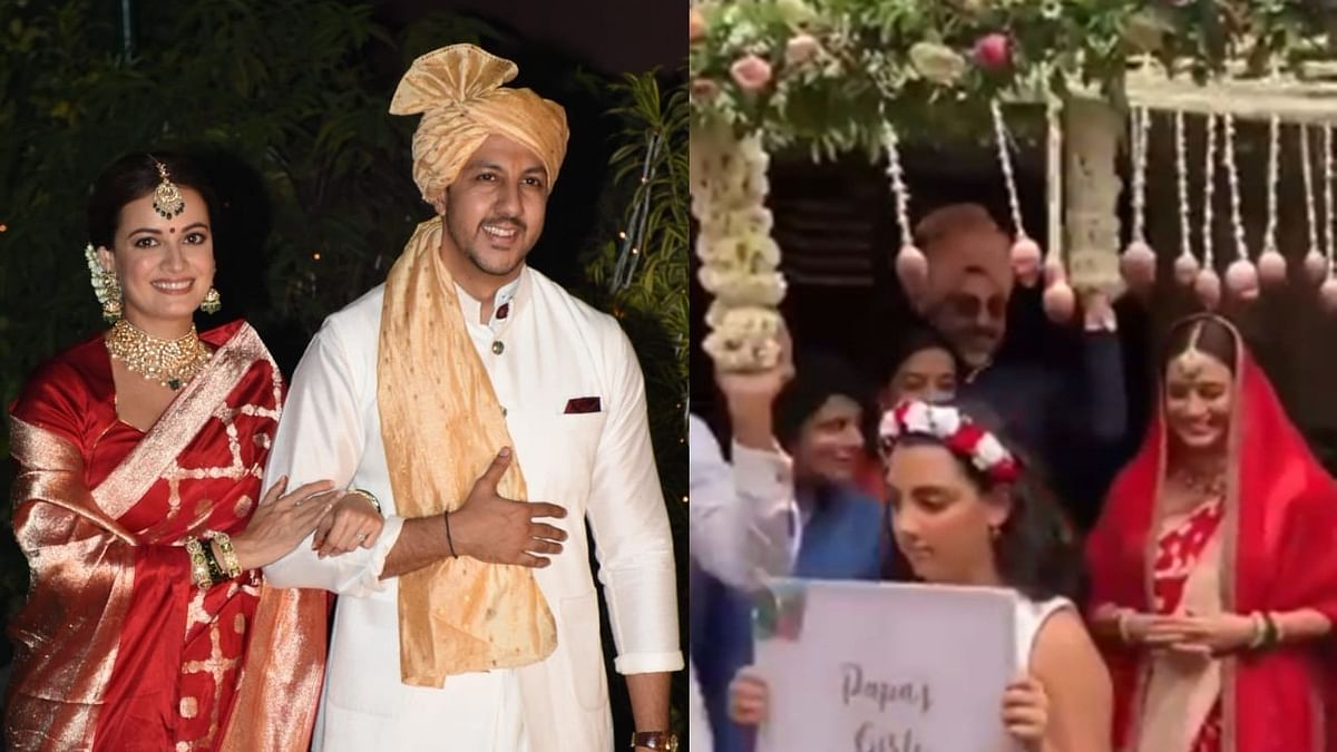 Papa's Girls: Did you notice Vaibhav Rekhi's daughter walking Dia Mirza down the aisle?