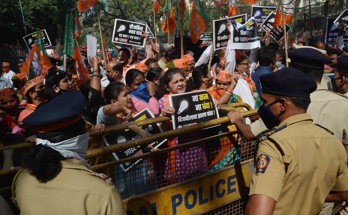 Mumbai: Shiv Sena's fuel protests get a due(s) response from BJP