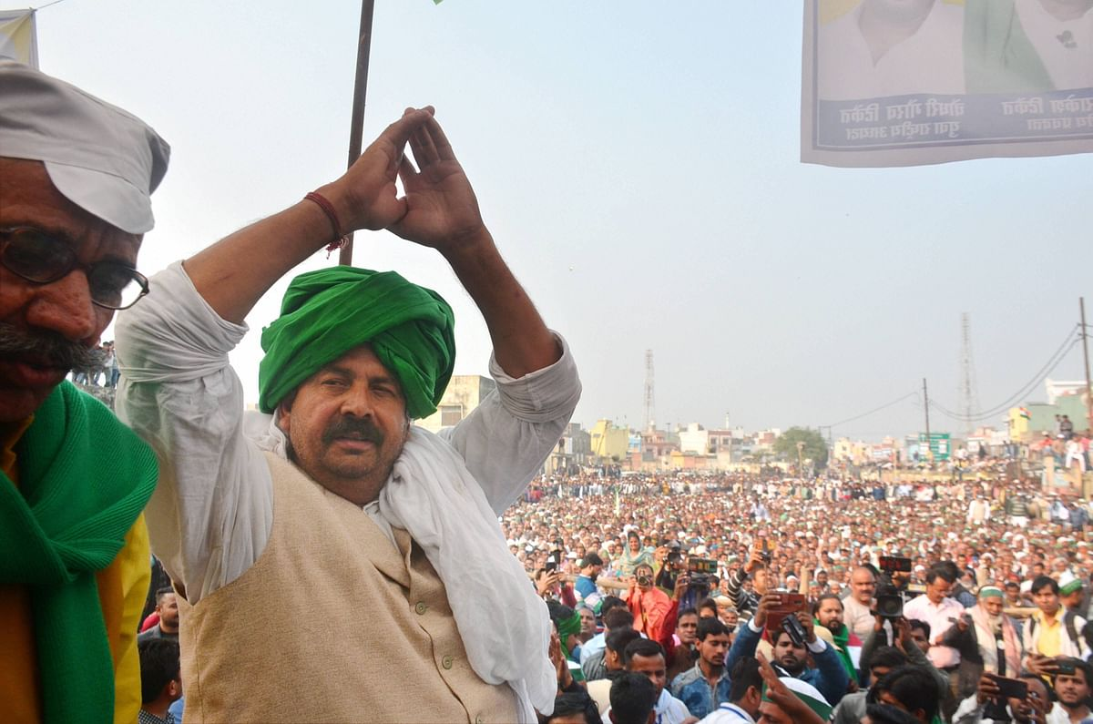 Farmers' Protest: BKU's Naresh Tikait 'not in favour' of Sanyukt Kisan Morcha's Rail Roko on Feb 18