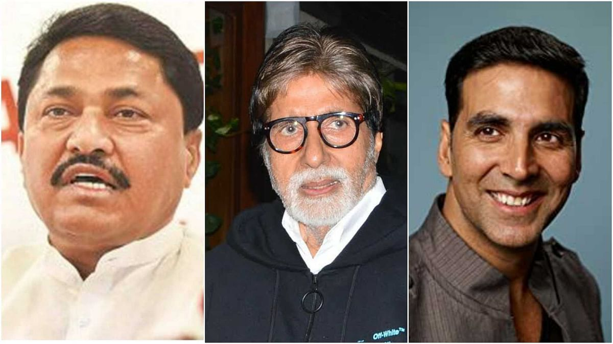 'Won't allow shoot of their films': Maha Cong chief Nana Patole slams Big B, Akshay for keeping mum over fuel price hike