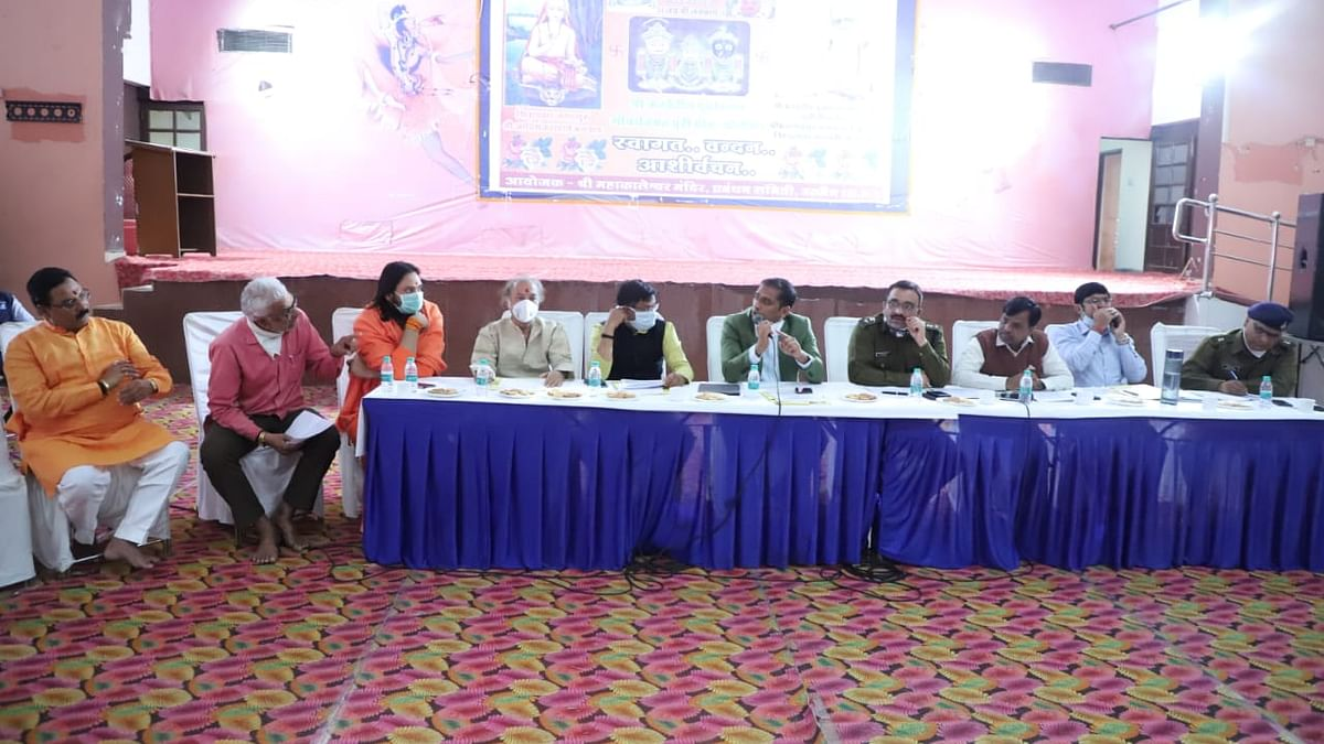 Officials attend meet to discuss preparations in the wake of upcoming festival in Ujjain on Thursday
