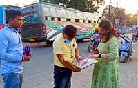 Barwani RTO Ritu Agrawal and her team launched a drive in the district on Thursday