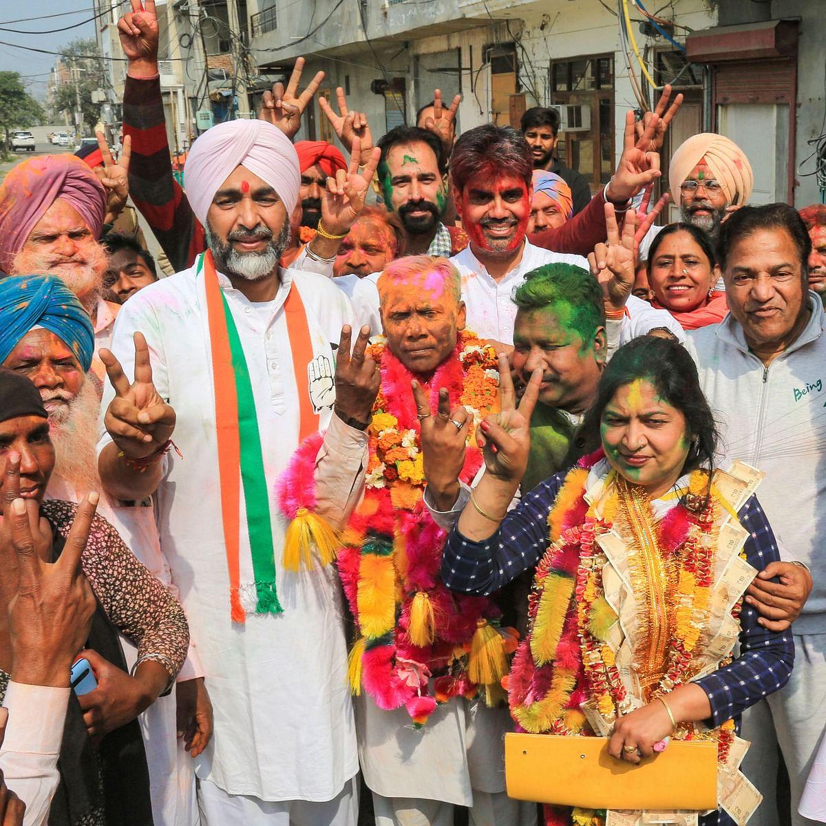 Congress sweeps Punjab civic polls, boost for CM Amarinder Singh