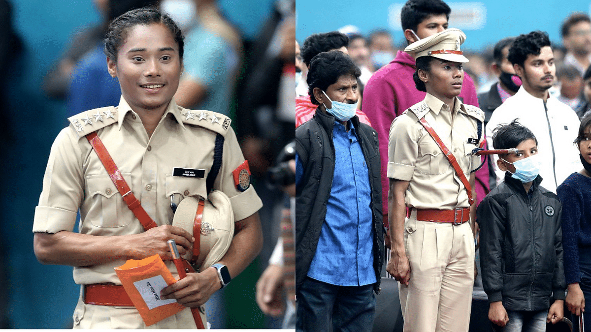Athlete Hima Das dons the hat of DSP of Assam Police; Twitter cheers on