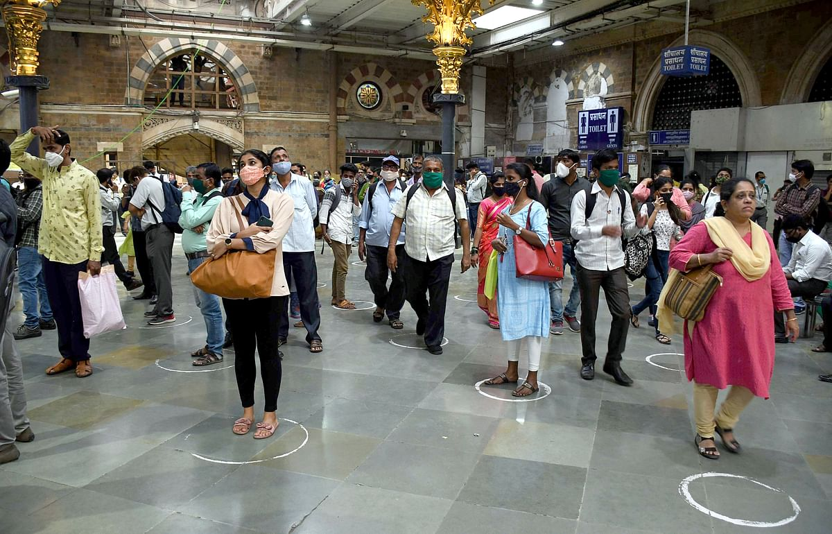 Lockdown in Mumbai: A slight dip in the number of commuters