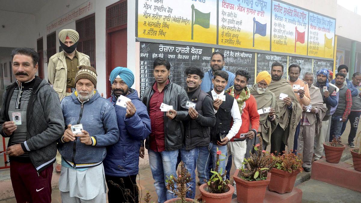 Punjab Municipal Elections 2021: 15.74% voter turnout recorded till 10 am