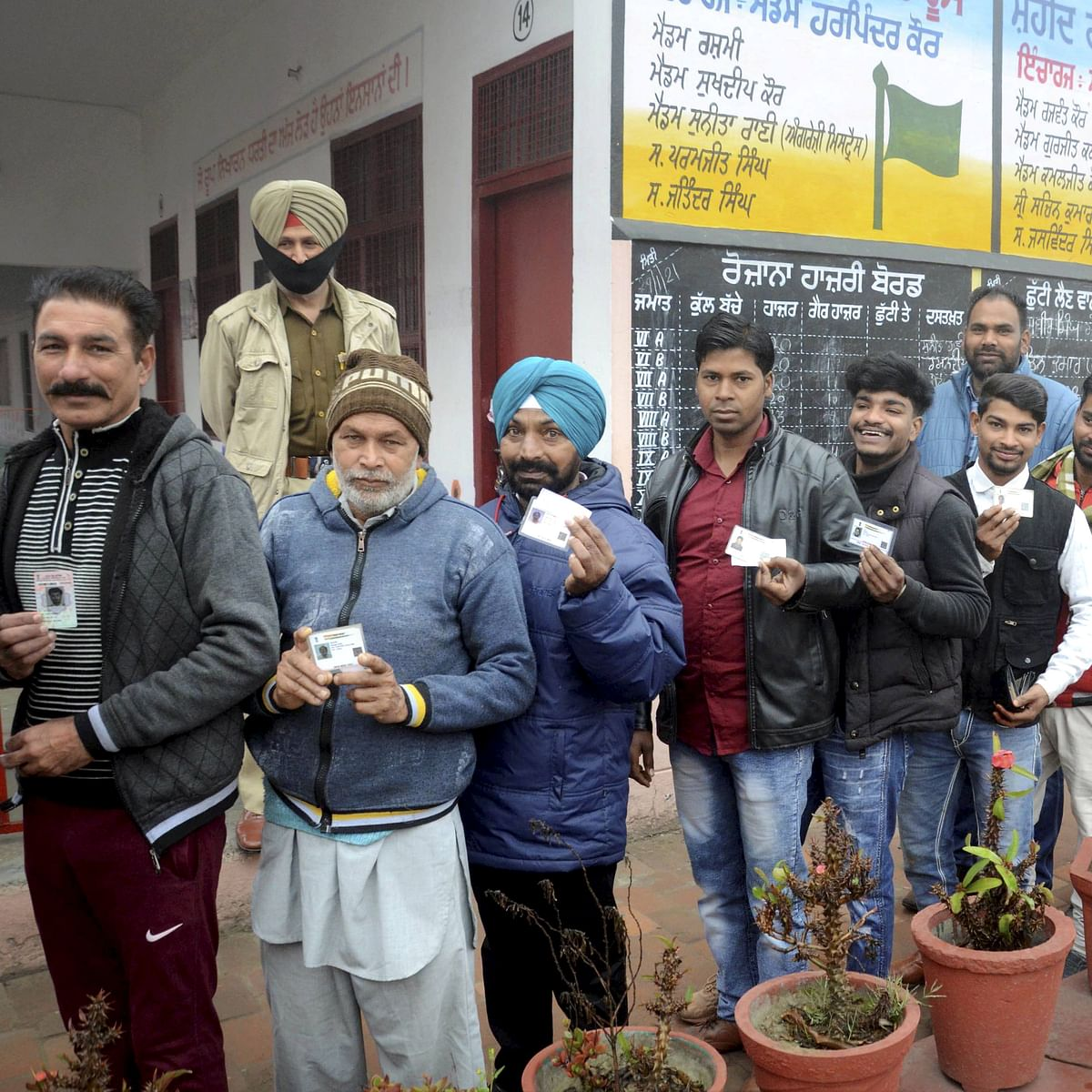 Punjab Municipal Elections 2021: 15.74% voter turnout recorded till 10 am