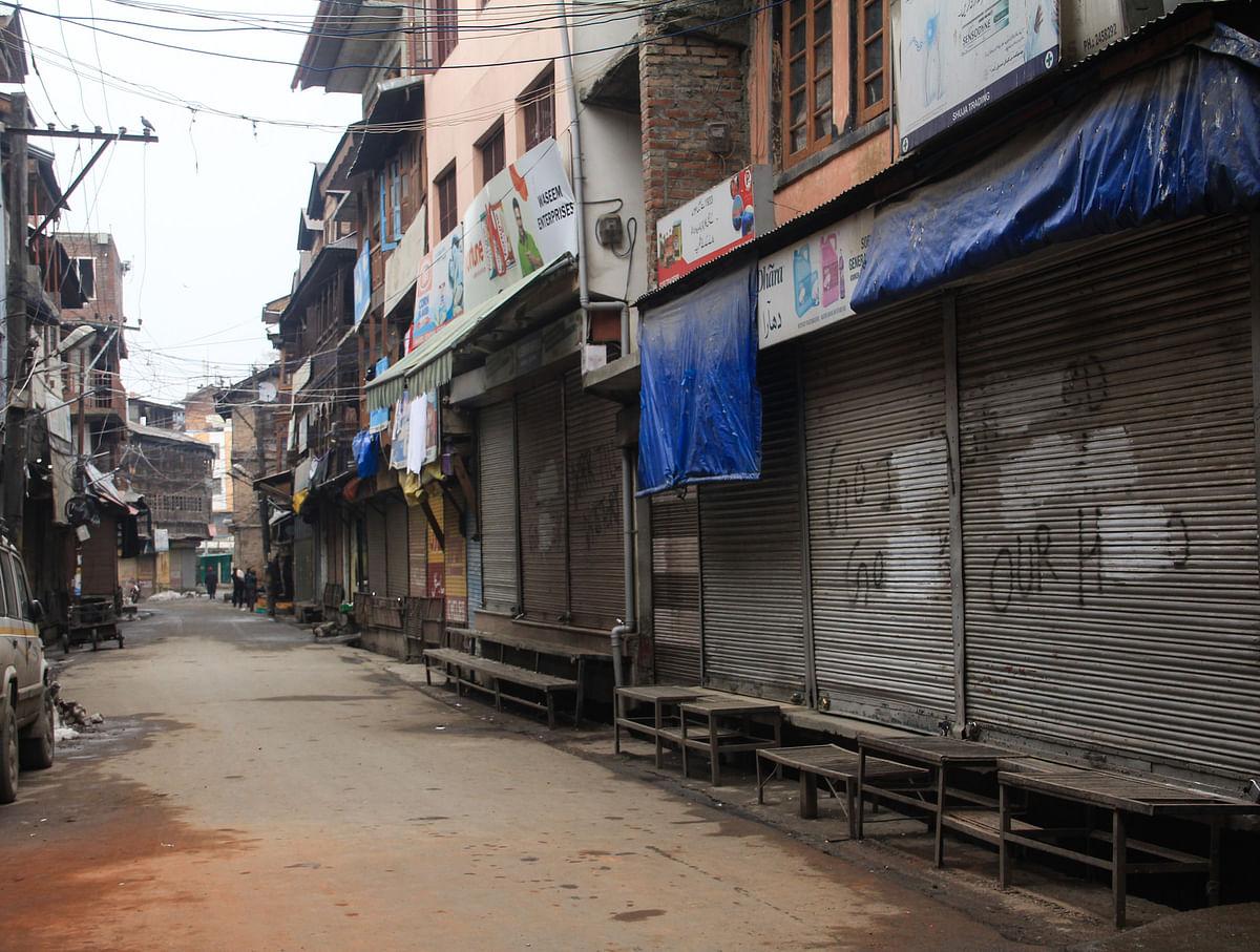 In Pics: Shutdown in Kashmir to mark JKLF founder Mohammad Maqbool Bhat's 37th death anniversary