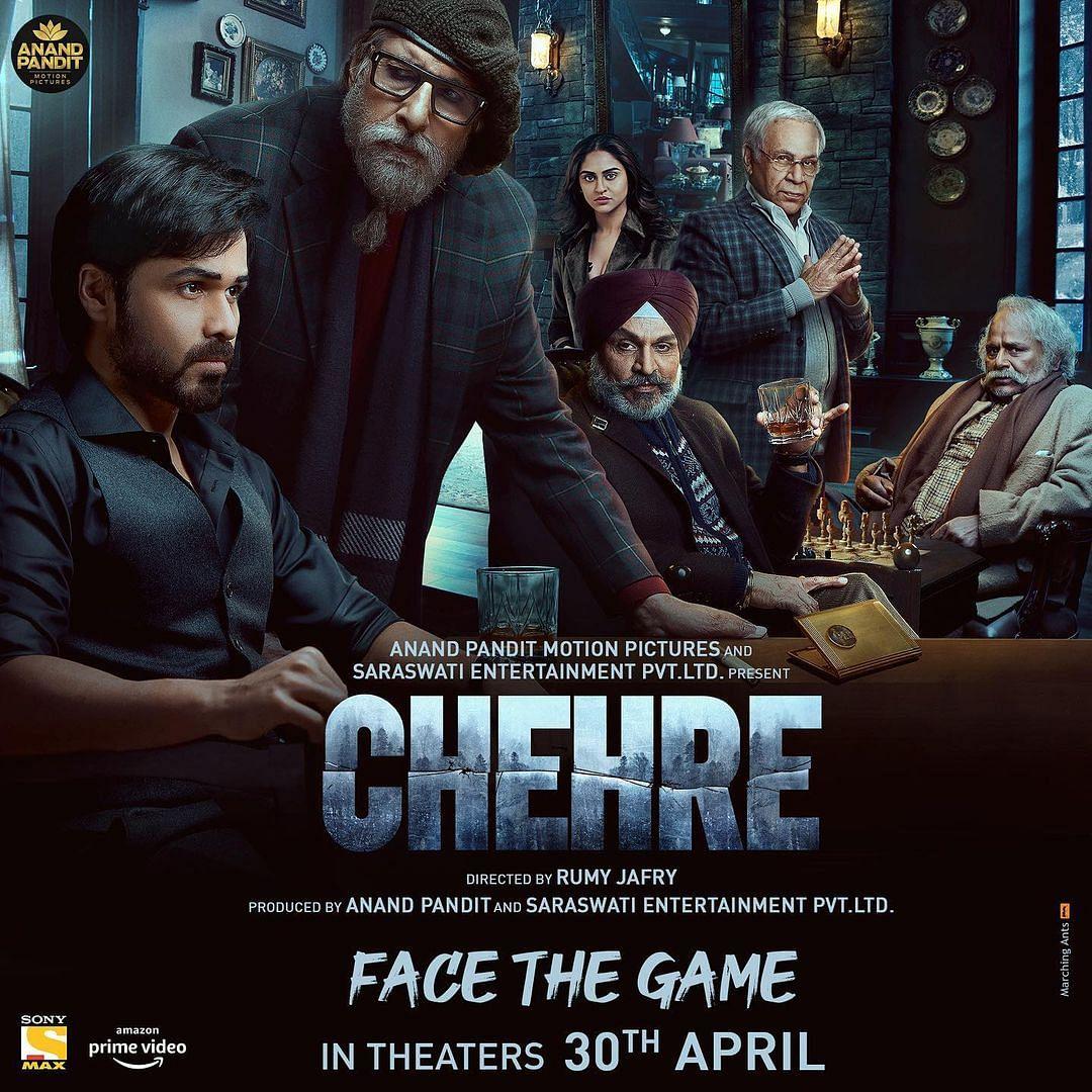 Amitabh Bachchan, Emraan Hashmi-starrer 'Chehre' to release in April