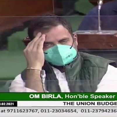 Budget 2021: Rahul Gandhi's 'facepalm' moment triggers meme fest on Twitter