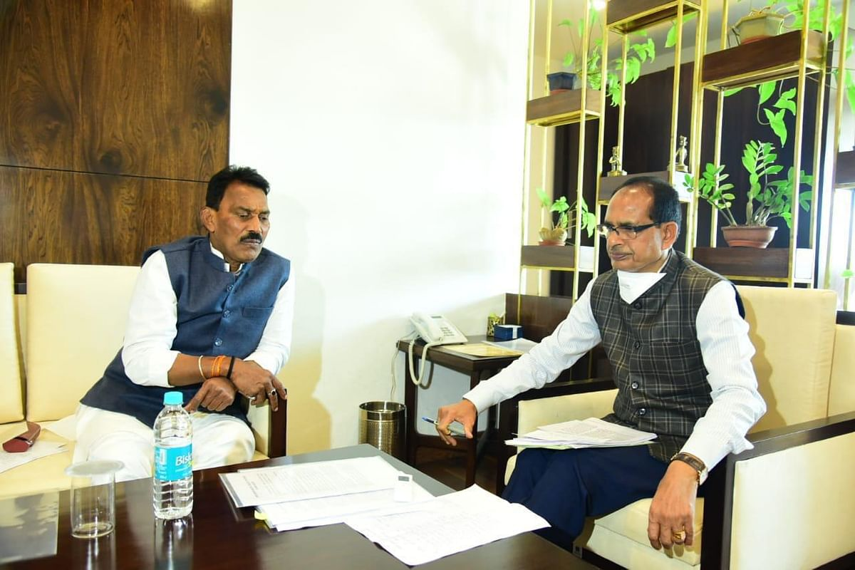 Indore: MYH to be developed as model hospital of state, says Silawat after meeting CM Shivraj Singh Chouhan