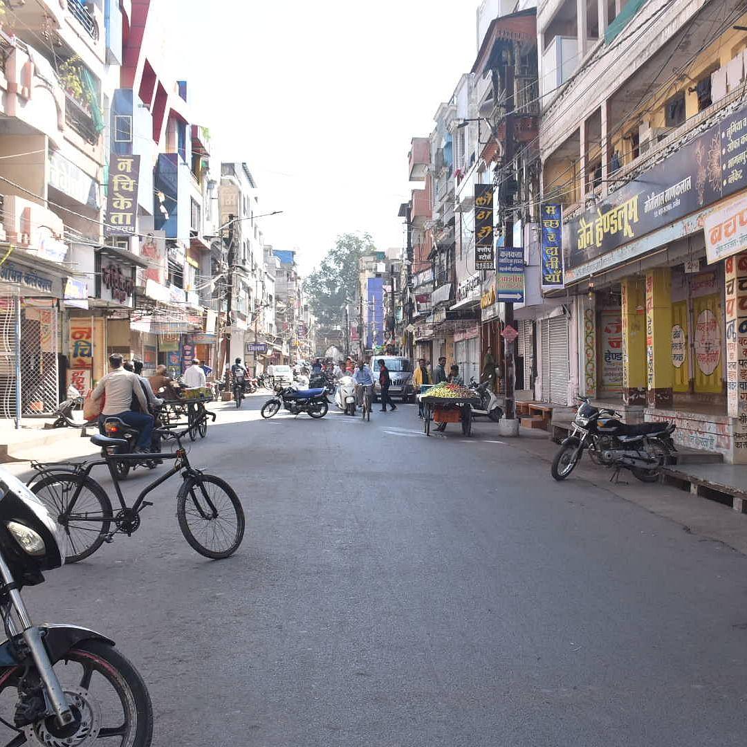 Ujjain: Bandh against GST anomalies gets mixed response