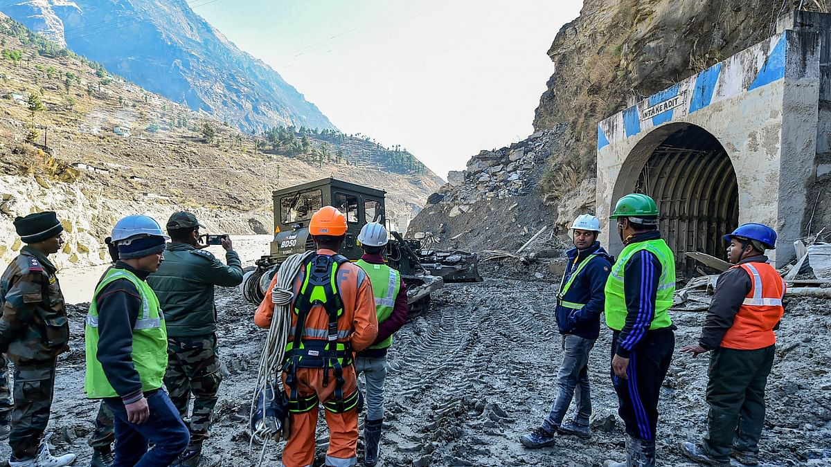 Uttarakhand glacier burst: Death toll rises to 32 as search for missing inside Tapovan tunnel continues
