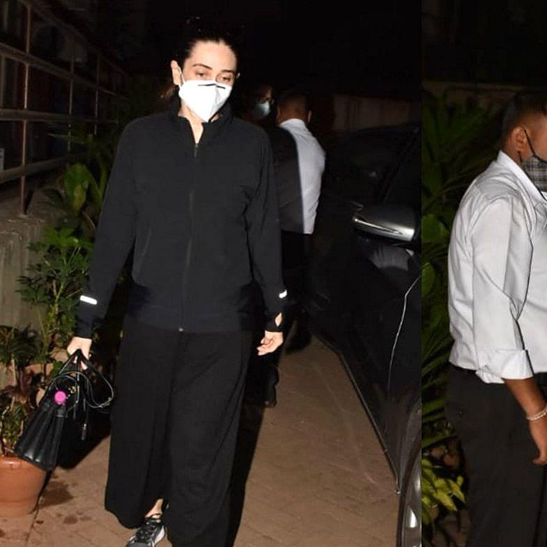 9-months pregnant Kareena to be admitted to the hospital soon; Karisma, Babita, Ibrahim visit actor's home
