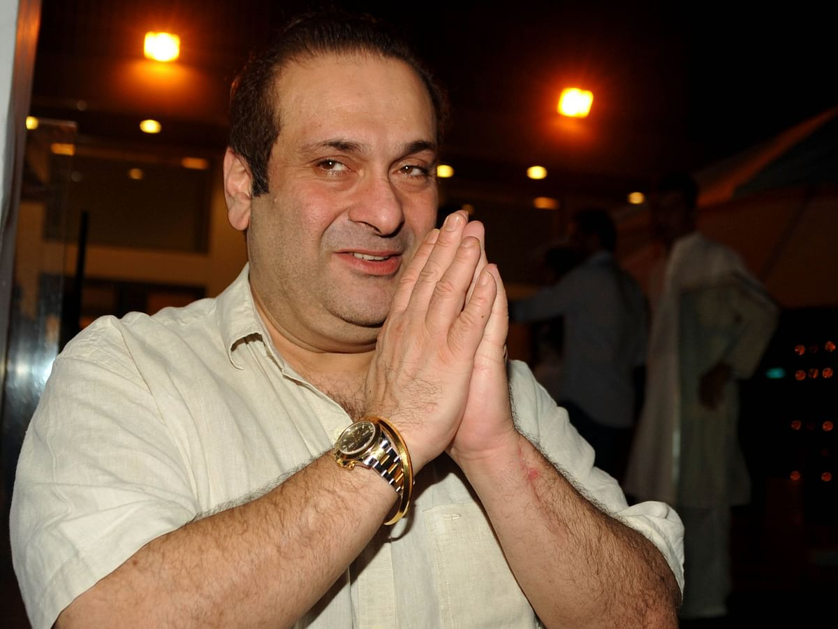 Actor-director Rajiv Kapoor