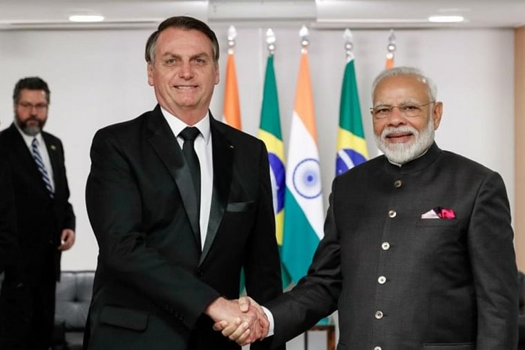PM Modi congratulates Brazilian President Jair Bolsonaro on successful launch of Amazonia-1 satellite
