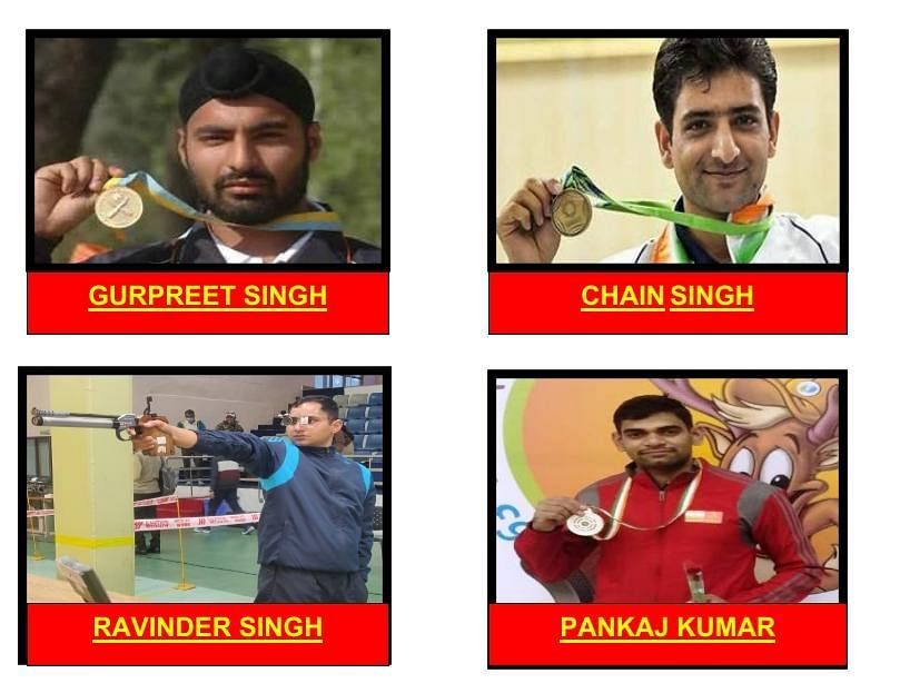 Indore: Army shooters qualify for World Cup