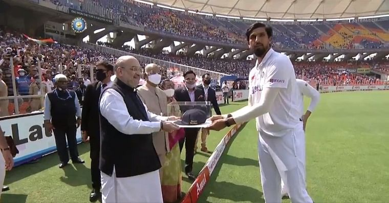 Ind vs Eng, 3rd Test: Ishant Sharma receives special cap from President Kovind on 100th Test
