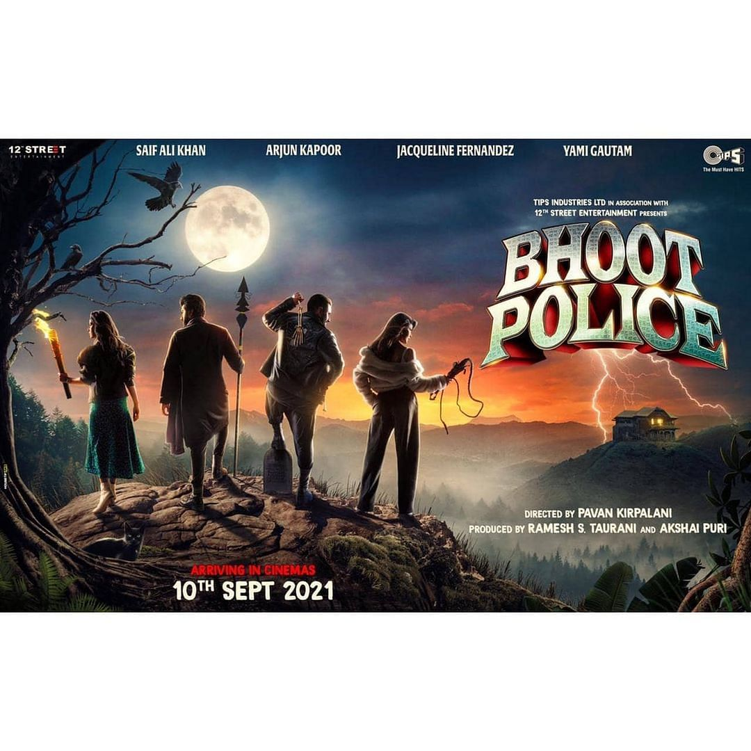 Saif Ali Khan, Arjun Kapoor-starrer 'Bhoot Police' to release in theatres on September 10