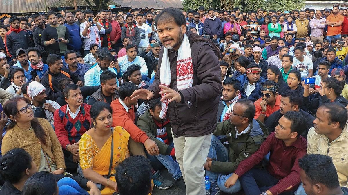 CAA protest: SC rejects bail plea of activist Akhil Gogoi arrested under UAPA