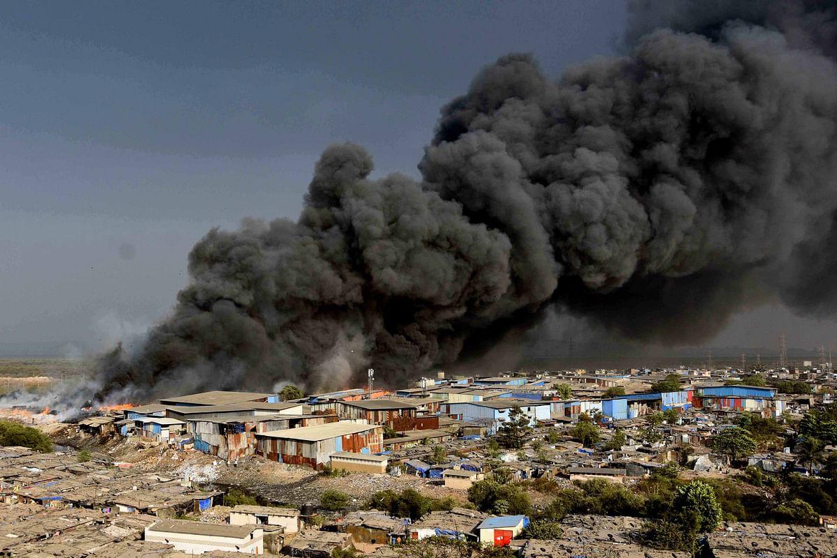 Mumbai: Fire at Mankhurd scrapyard doused