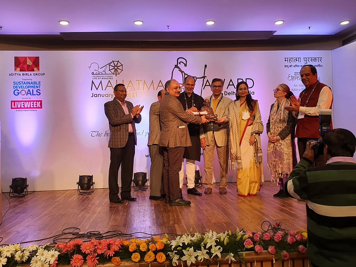 REC Ltd conferred the 'Mahatma Award for CSR Excellence 2020'