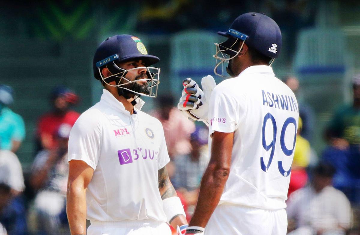 IND vs ENG, 2nd Test: Kohli, Ashwin half-centuries take India to 221/8, lead extend to 416 runs