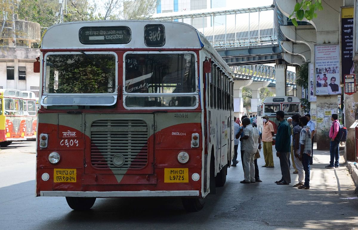 Less rush on BEST buses as trains resume