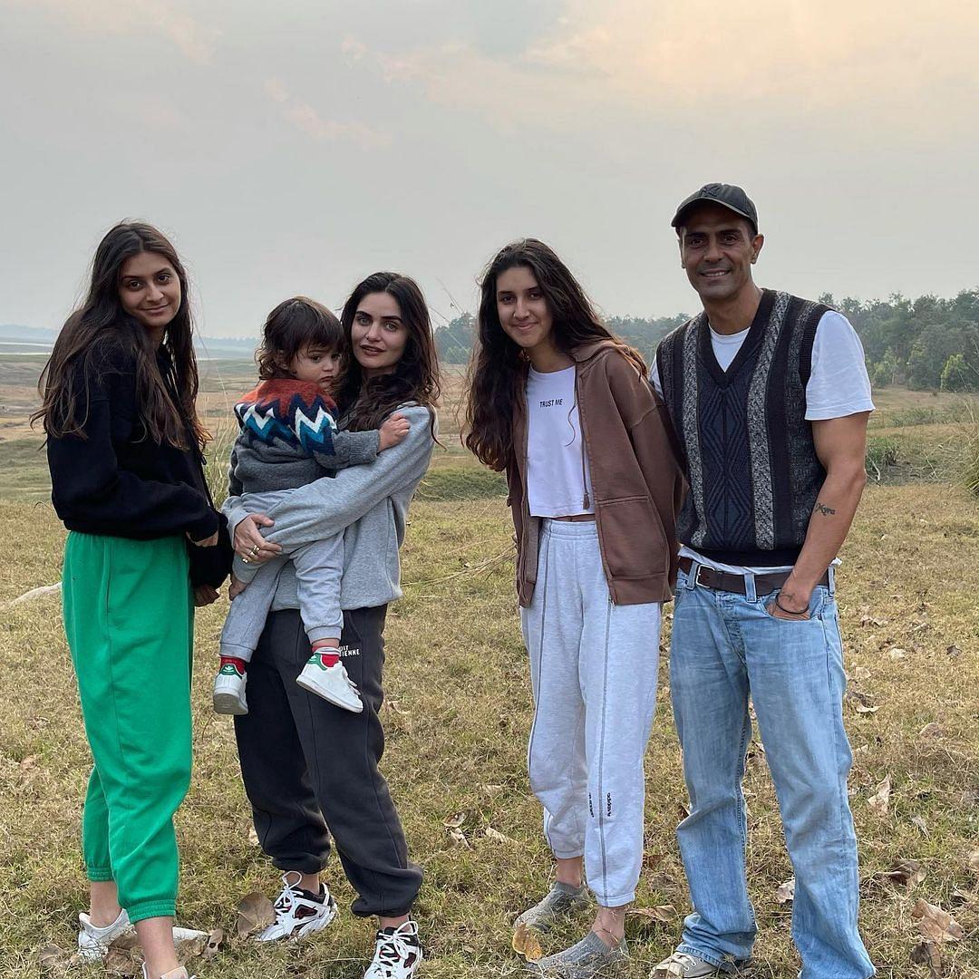 Arjun Rampal enjoys jungle safari with family at Satpura Tiger Reserve in Madhya Pradesh