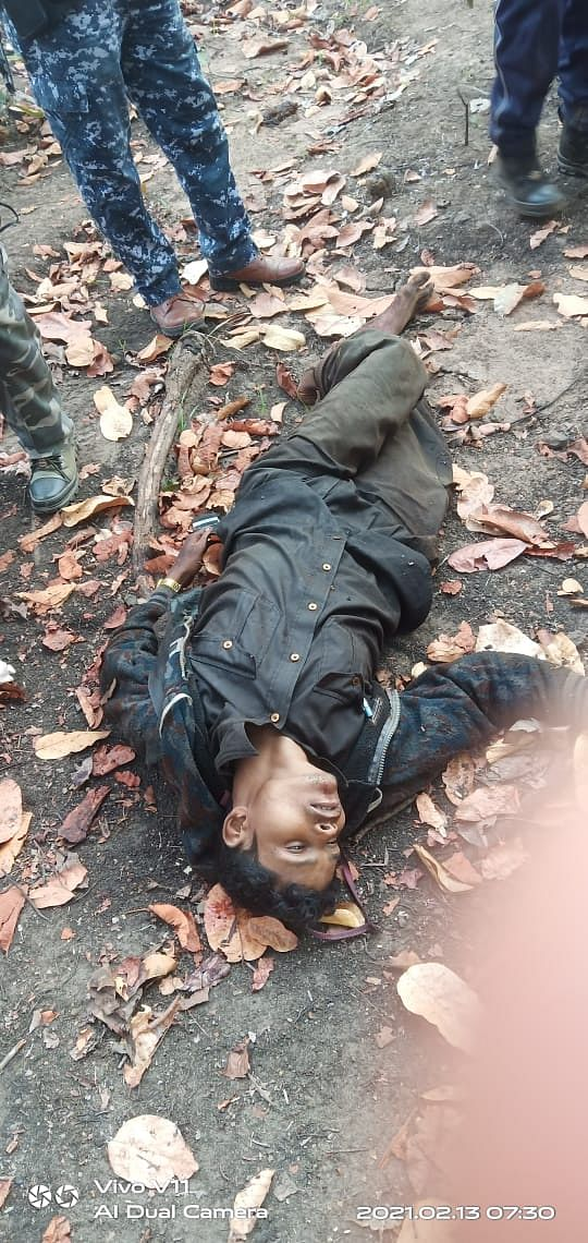 One of the Naxals killed in encounter