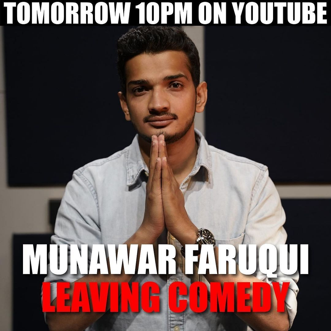 Is Munawar Faruqui leaving comedy? Watch his first video after bail to know the answer