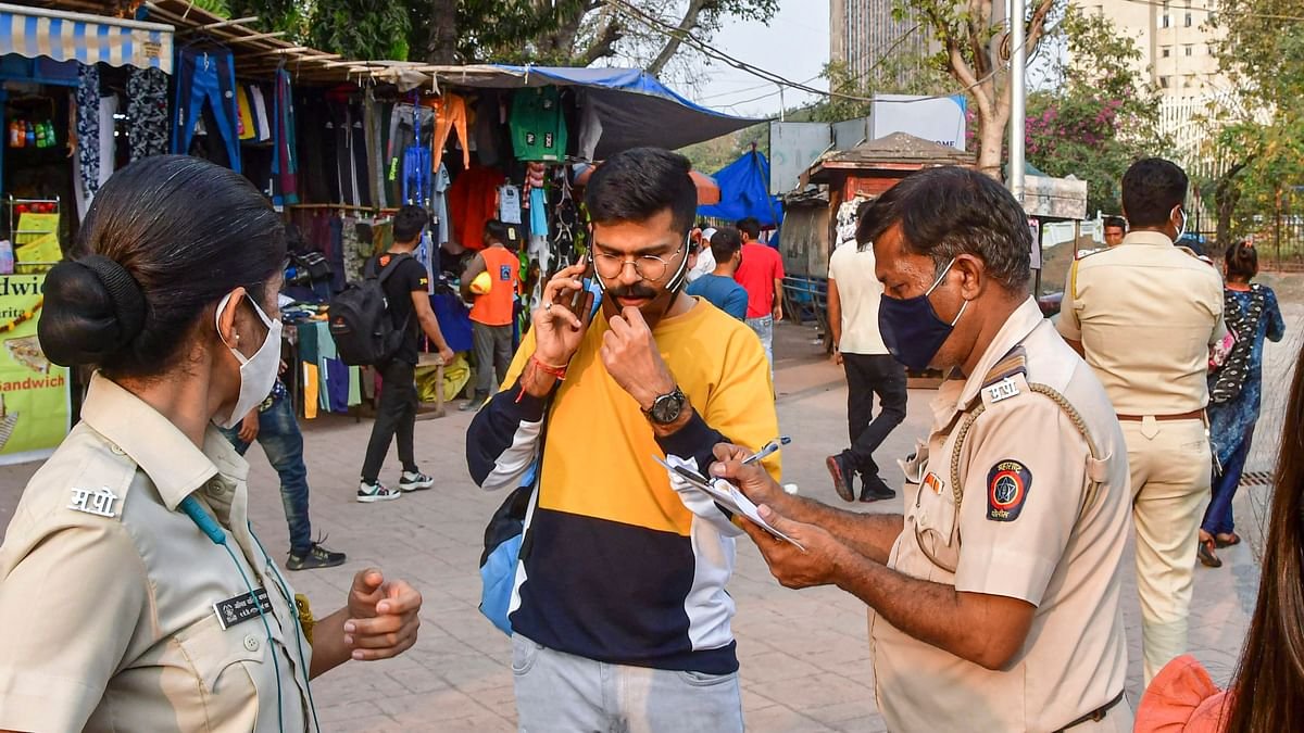 '#FakeNews mongers are back again!': Mumbai Police clarifies fine for not wearing mask is only Rs 200