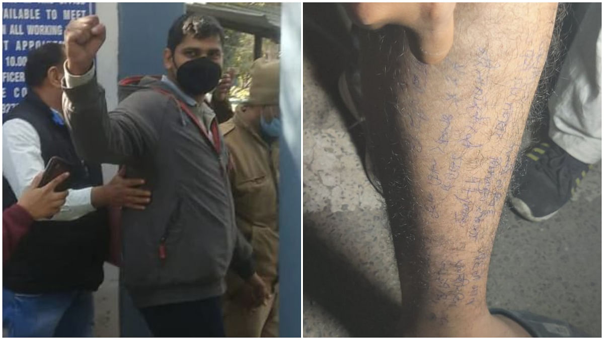 'Thank govt for opportunity to report from Tihar': Journalist Mandeep Punia writes notes on his leg in jail