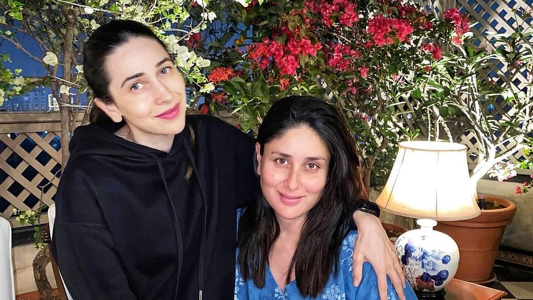 Karisma Kapoor shares adorable pic with Kareena, says 'I'm a masi again so excited'