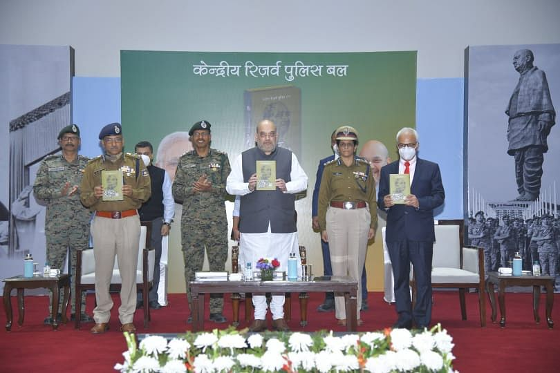 Home Minister Amit Shah releases book on CRPF history