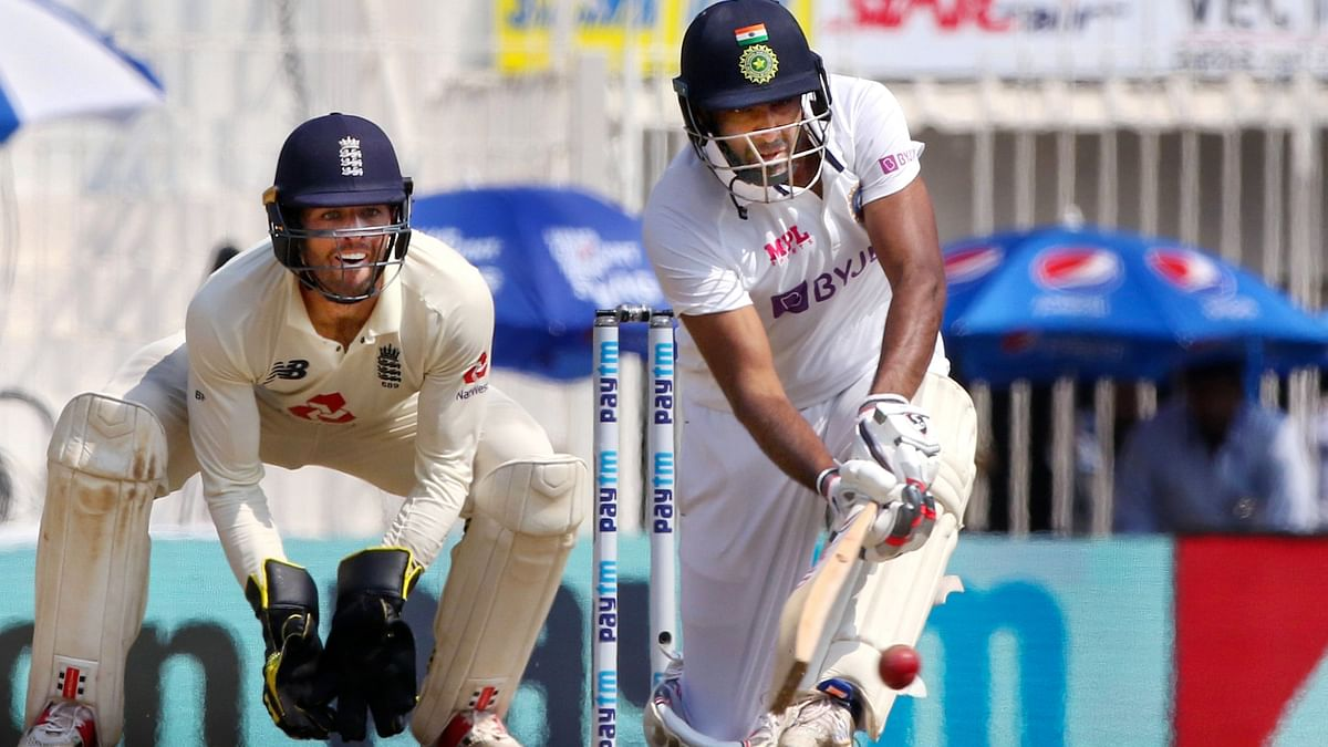 Ind vs Eng, 2nd Test: Mohammad Siraj celebrates R Ashwin's ton