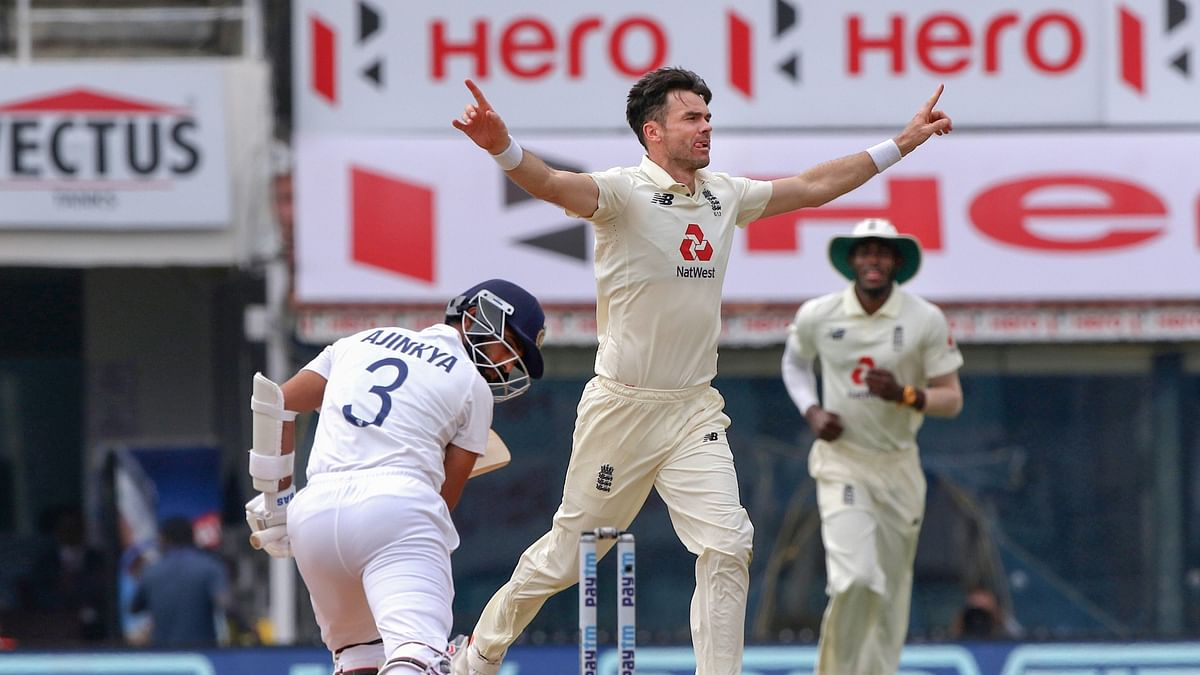 India vs England:  James Anderson's love for denting Indian middle-order continues