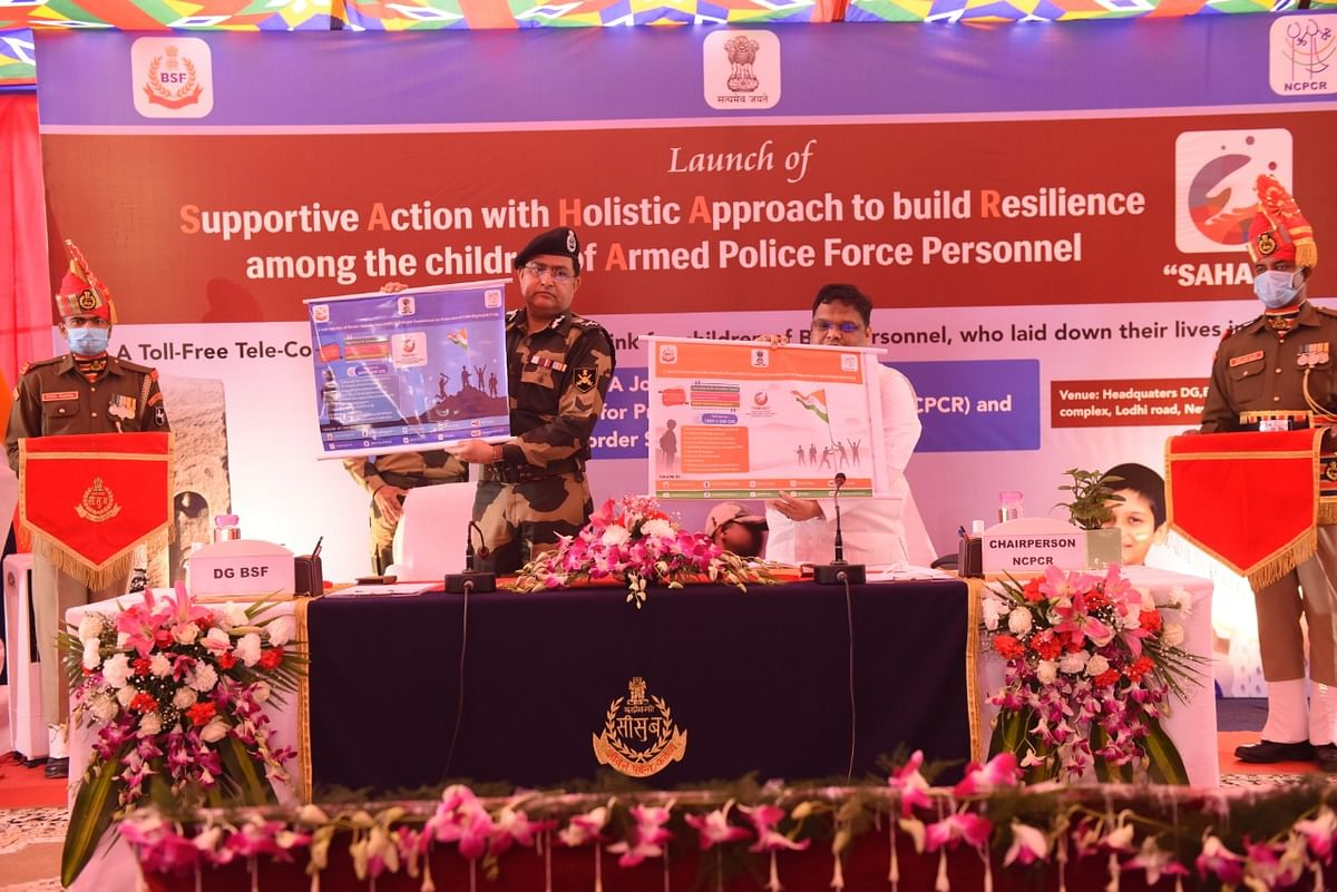 BSF launches 'SAHARA' – toll-free tele counselling & weblink