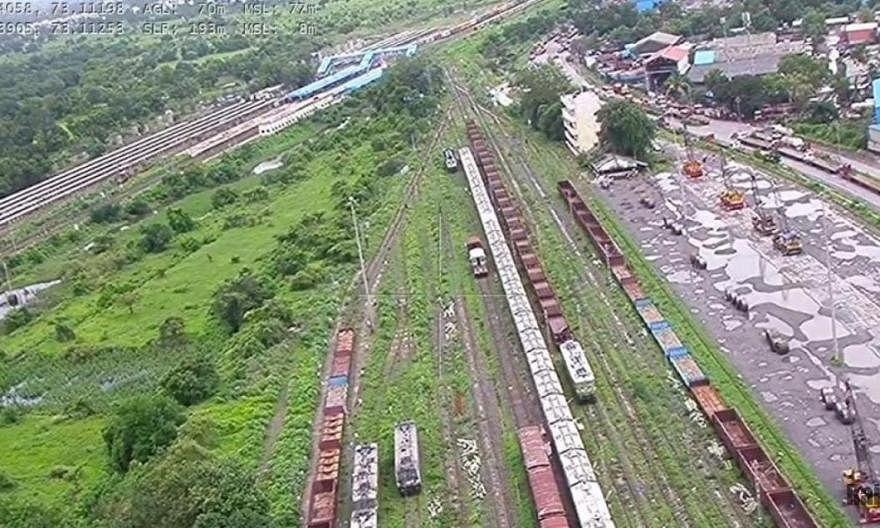 Mumbai: Now, drones used to survey land availability on Virar-Dahanu stretch