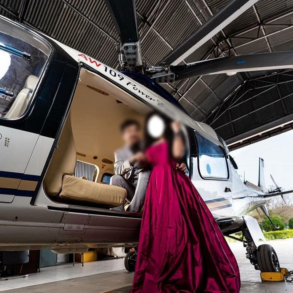 Chhattisgarh: Pre-wedding shoot of BJP state chief's relative in CM Bhupesh Baghel's chopper raises security concerns