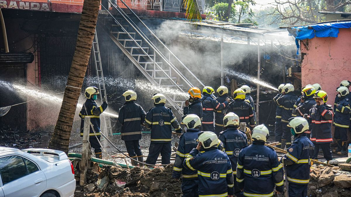 Versova fire: Gas cylinder godown owner held for operating illegally in residential area