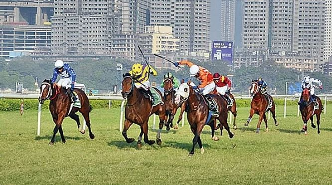 Mumbai Racing: Gool S Poonawalla Million, Grade 3, wears an open affair